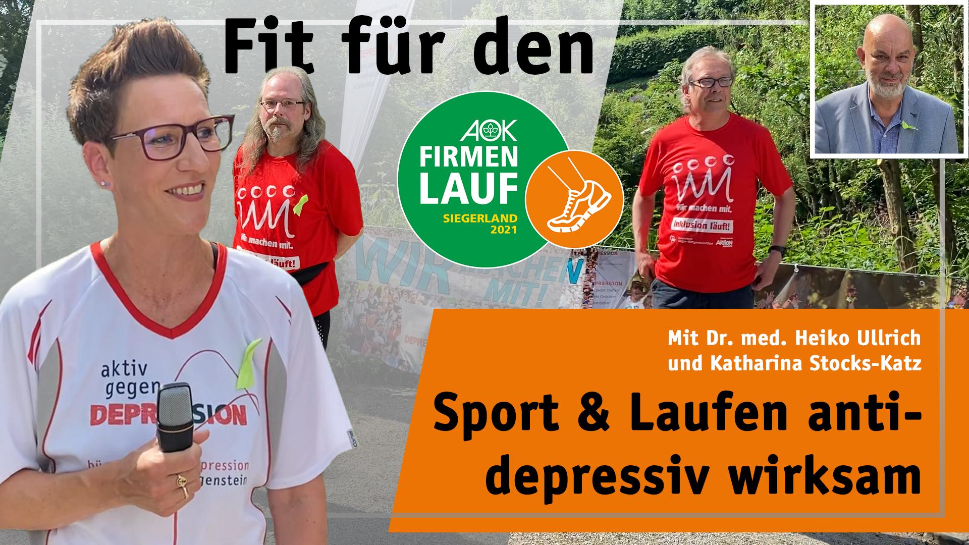 Sport & Laufen antidepressiv wirksam